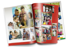 picture of a yearbook